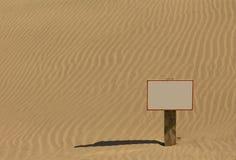 Sand Sign Royalty Free Stock Photos