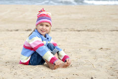 Sand Sitting Royalty Free Stock Photo