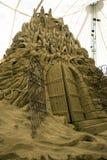 Sand-Skulpturen - die Stadt von DIS Lizenzfreie Stockfotografie