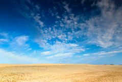 Sand and Sky Background Royalty Free Stock Photo