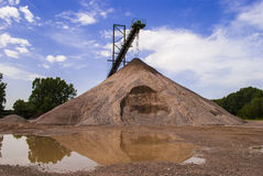 Sand and Sky Stock Photography