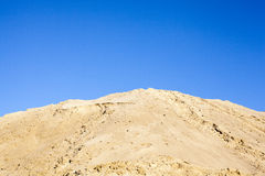 Sand and sky Royalty Free Stock Photo