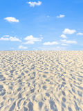 Sand and sky Royalty Free Stock Photos