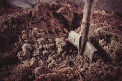 sand skyffeln Fotografering för Bildbyråer