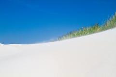 Sand som blåsas av vinden Royaltyfri Fotografi