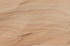 Sand som formas av vinden Royaltyfria Foton
