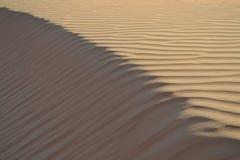 Sand som skulpteras av vind Arkivbilder