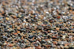 Sand. On Son-Kul beach, Naryn region, Kyrgyzstan Royalty Free Stock Photos