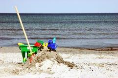 Sand-Spielzeug Stockfotografie