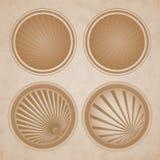 Sand stickers Stock Photos