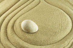 Sand and stone Royalty Free Stock Photography