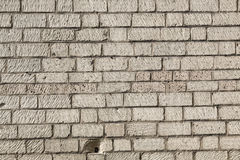 Sand stone brick wall Stock Photo