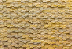 Sand stone brick wall Royalty Free Stock Images