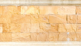 Sand stone brick wall,texture background Stock Images