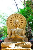 SAND STONE  BUDDHA STATUE Royalty Free Stock Photography