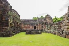 Sand stone castle, phanomrung in Buriram province, Thailand. Royalty Free Stock Photography