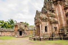 Sand stone castle, phanomrung in Buriram province, Thailand. Stock Photo