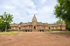 Sand stone castle, phanomrung in Buriram province, Thailand. Royalty Free Stock Photo