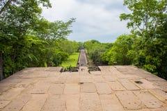 Sand stone castle, phanomrung in Buriram province, Thailand. Stock Image