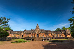 Sand stone castle, phanomrung in Buriram province Stock Photos
