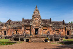 Sand stone castle, phanomrung in Buriram province Stock Photo