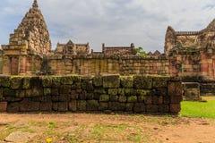 Sand stone castle, phanomrung Royalty Free Stock Image