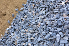 Sand and stone for construction work Royalty Free Stock Photo