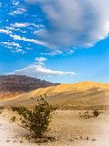In Sand and Stone. Eureka Dunes. Death Valley NP Royalty Free Stock Image