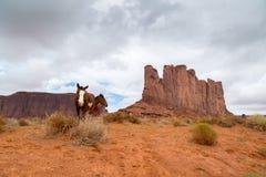 Sand Stone Monuments in Arizona Stock Photos