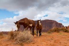 Sand Stone Monuments in Arizona Royalty Free Stock Image