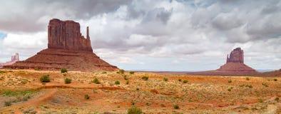 Sand Stone Monuments in Arizona Stock Photo