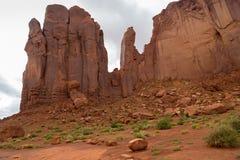 Sand Stone Monuments in Arizona Royalty Free Stock Photo