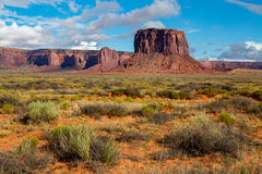 Sand Stone Monuments in Arizona Royalty Free Stock Photography