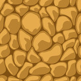 Sand Stone Seamless. Vector illustration Royalty Free Stock Photo