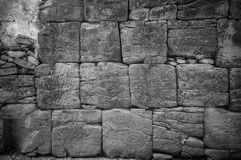Sand stone wall Royalty Free Stock Image