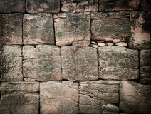 Sand stone wall Stock Photos