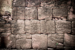 Sand stone wall Royalty Free Stock Photos