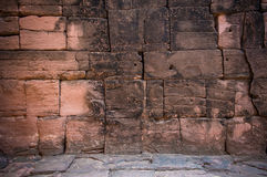 Sand stone wall Stock Photography
