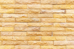 Sand stone wall Background of decorate Stock Images