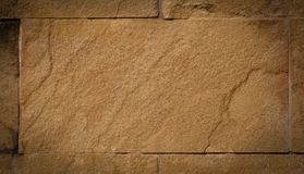 Sand Stone of wall Stock Images