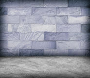 Sand stone wall and concrete  floor texture , Grunge design Stock Images