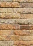 Sand stone wall Stock Photo