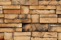 Sand stone wall surface Stock Image