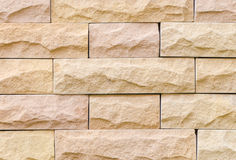 Sand stone wall Royalty Free Stock Images
