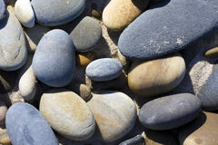 Sand stones Stock Images