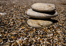 Sand Stones Royalty Free Stock Image