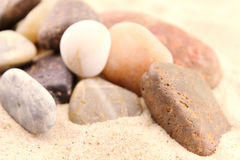 Sand and stones Stock Photos