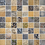SAND & STONES 64 PICTURES Royalty Free Stock Photos