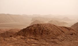 Free Sand Storm In Lut Desert Or Dasht-e Lut , Iran Royalty Free Stock Photography - 159753817