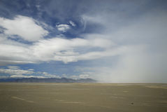Sand storm in Utah desert Stock Images